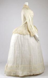 Morning Dress, circa 1870, Met Museum