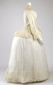 Morning Dress, circa 1870, Met Museum