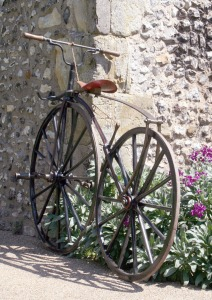Velocipede made by Andrew Muir and Co, Manchester, England, 1869, Courtesy of Oldbike.eu